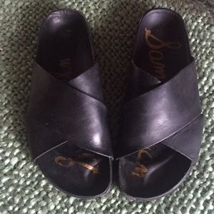 Sam Edelman Leather Sandals Size 7